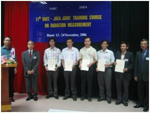 Tổ chức thành công Khoá đào tạo hợp tác Việt-Nhật lần thứ 11 về Ghi đo bức xạ