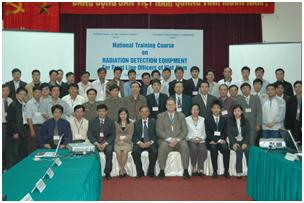 Khai mạc lớp tập huấn quốc gia về thiết bị phát hiện phóng xạ cho cán bộ, nhân viên biên giới, cửa khẩu Việt Nam