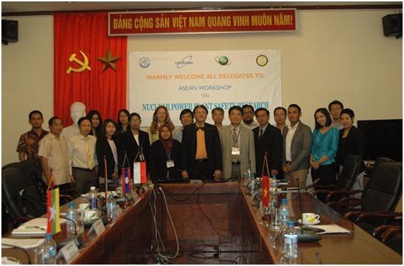 Hội thảo về  nghiên cứu an toàn  nhà máy điện hạt nhân giữa các nước Đông Nam Á