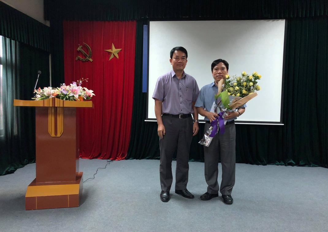 Lễ trao quyết định giao Phụ trách Viện Khoa học và Kỹ thuật hạt nhân