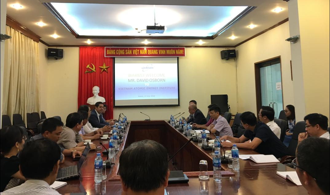 Workshop on establishing IAEA-VINATOM Collaborating Center for Environmental Studies in Vietnam