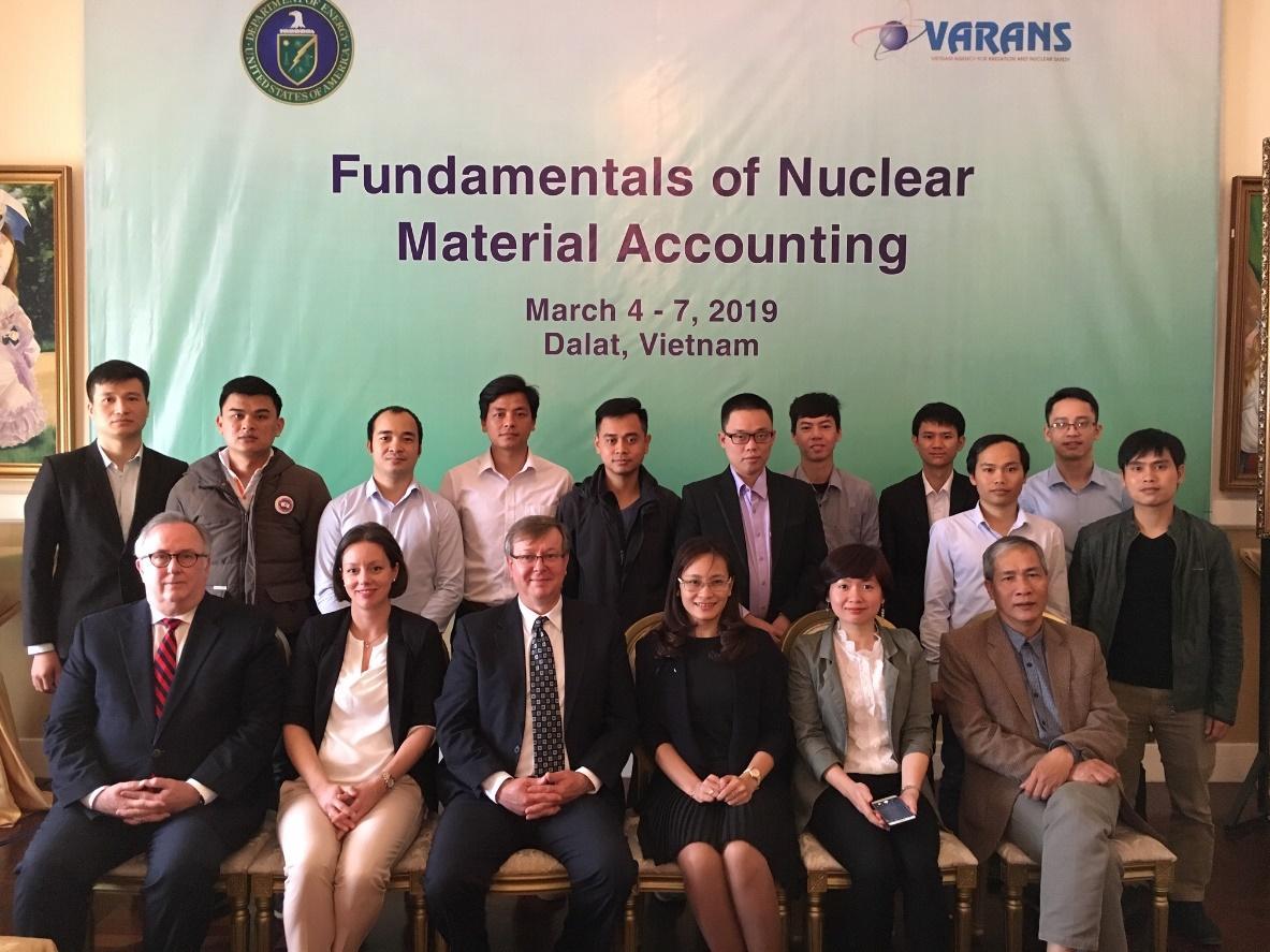 Hội thảo về Kiểm soát và kế toán vật liệu hạt nhân