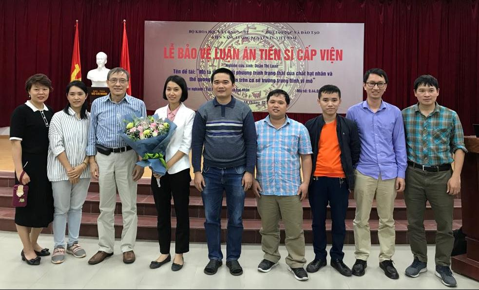 Lễ bảo vệ luận án tiến sĩ của nghiên cứu sinh Doãn Thị Loan