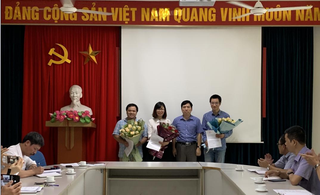 Lễ công bố quyết định bổ nhiệm cán bộ lãnh đạo các đơn vị trực thuộc Viện KH&KTHN