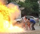 Tập huấn, diễn tập phòng cháy, chữa cháy năm 2014