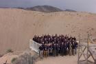 Nhóm Thanh sát hiện trường (OSI) của Tổ chức Hiệp ước cấm thử hạt nhân toàn diện (CTBTO) làm việc tại NEVADA